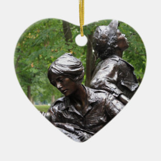Vietnam Womens Memorial Ornament