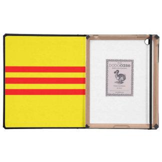 Vietnamese Flag iPad Case