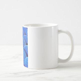 Vietnamese joss sticks in blue basic white mug