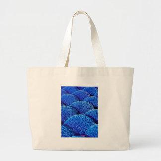 Vietnamese joss sticks in blue jumbo tote bag