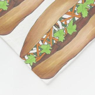 Vietnamese Pork Banh Mi Sandwich Foodie Blanket