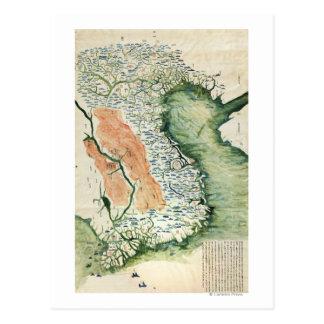 VietnamPanoramic MapVietnam Postcard