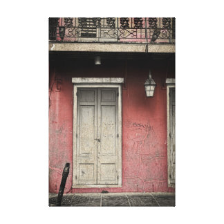 Vieux Carre Architecture Canvas Print