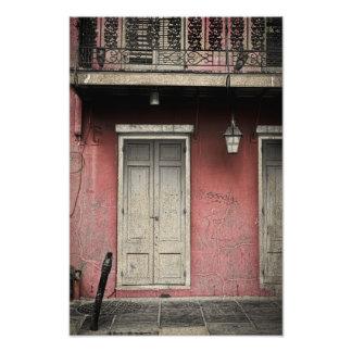 Vieux Carre Architecture Photo Print
