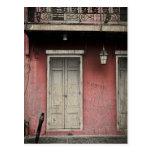 Vieux Carre Architecture Postcard