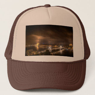 View across Budapest from Buda Castle Trucker Hat
