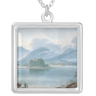 View across Loch Awe Silver Plated Necklace