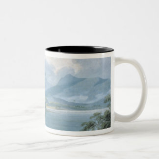 View across Loch Awe Two-Tone Coffee Mug