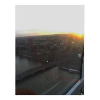 View Across London from London Eye, England 12 Postcard