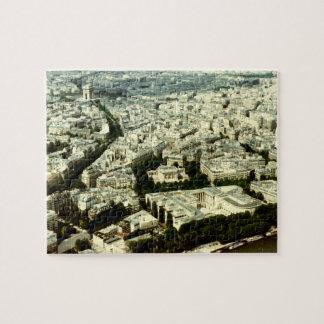 View Across Paris Jigsaw Puzzle