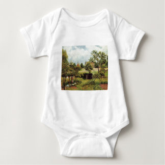 View Across Stamford Brook Common by Camille Pissa T-shirt