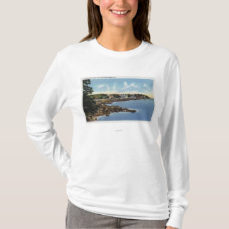 View Along Ocean Point, Homes by the Sea T-Shirt