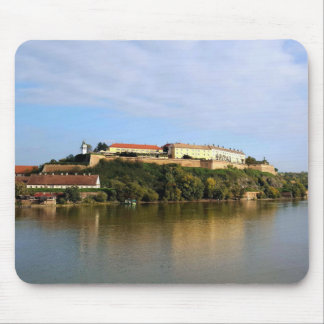 View at Petrovaradin fortress near Novi Sad Mouse Mat