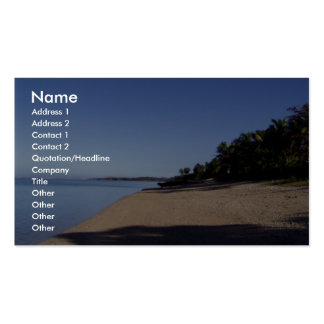 View Beautiful Beach Pack Of Standard Business Cards