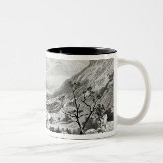 View between Senafe and Rahaguddy Two-Tone Coffee Mug