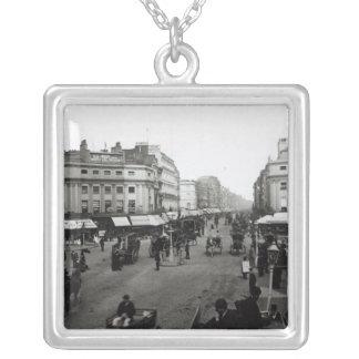 View down Oxford Street London c 1890 Pendant