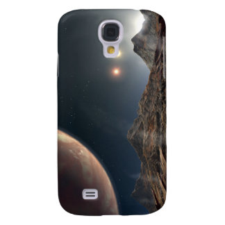 View from a hypothetical moon in orbit galaxy s4 case