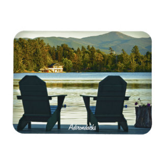 View from Adirondack Chairs in the Adirondacks, NY Magnet