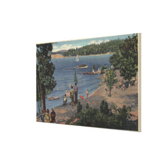View from Bathing Cove Point Canvas Print