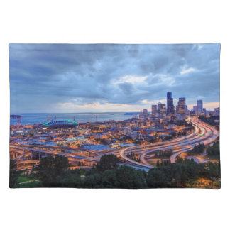 View from Beacon Hill, Pacific Med Center Placemat