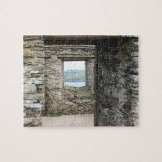 View from Burgh Island towards Devon coast Jigsaw Puzzle