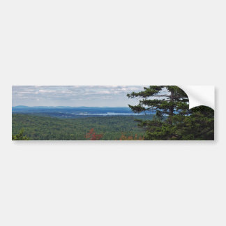 View From Cadillac Mountain Bumper Sticker