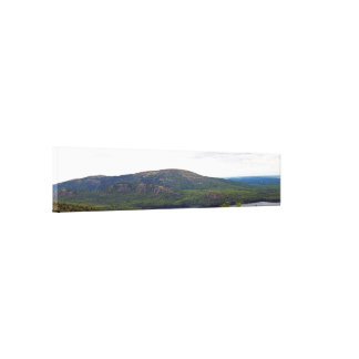 View From Cadillac Mountain Stretched Canvas Print