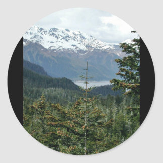 View from Caines Head Sticker