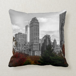 View from Central Park in New York City Cushion