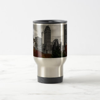 View from Central Park in New York City Travel Mug