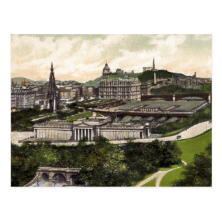 View from Edinburgh Castle Postcard