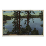 View From Emerald Bay Poster