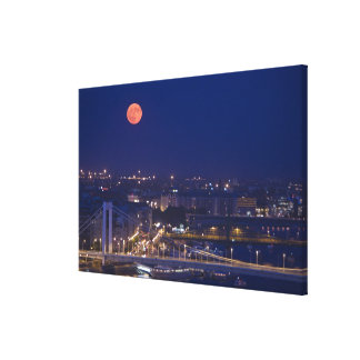 View from Fishermens Bastion next to Matyas Canvas Prints