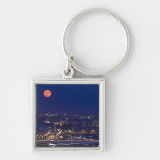 View from Fishermens Bastion next to Matyas Silver-Colored Square Key Ring