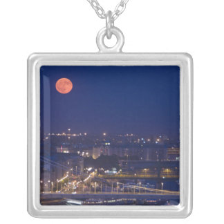 View from Fishermens Bastion next to Matyas Silver Plated Necklace