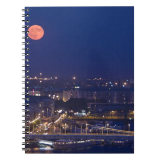 View from Fishermens Bastion next to Matyas Spiral Notebook