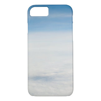 view from flight. clouds iPhone 8/7 case