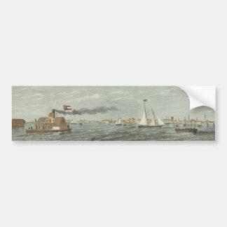 View from Fort Johnson-Charleston Bumper Sticker