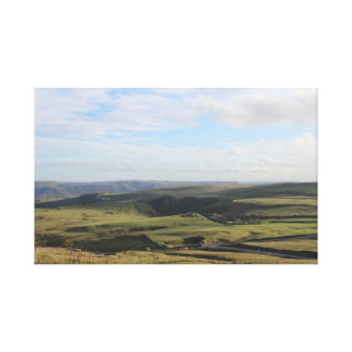 View from Mam Tor.(Peak District) Canvas Print