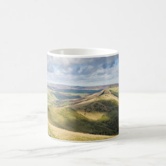 View from Mam Tor, Peak District souvenir photo Coffee Mug