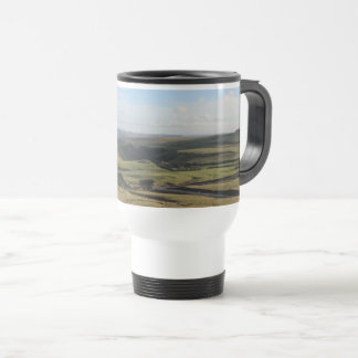 View from Mam Tor.(Peak District) Travel Mug