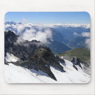 View from Mont Fort Mouse Pad