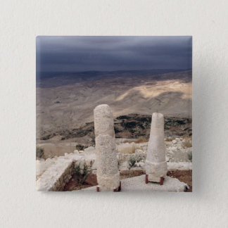 View from Mount Moses 15 Cm Square Badge