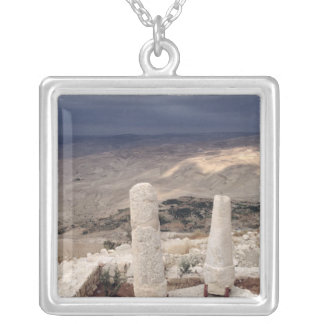View from Mount Moses Silver Plated Necklace