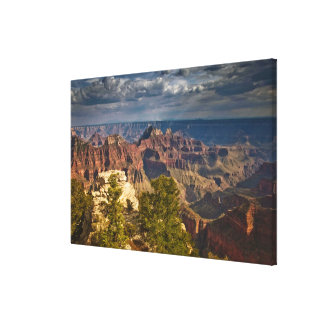 View from North Rim Visitor Center - Grand Canvas Print
