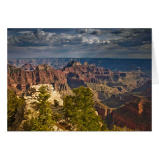 View from North Rim Visitor Center - Grand Greeting Card