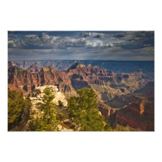 View from North Rim Visitor Center - Grand Photo Print