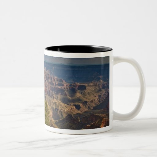 View from North Rim Visitor Centre - Grand Two-Tone Mug