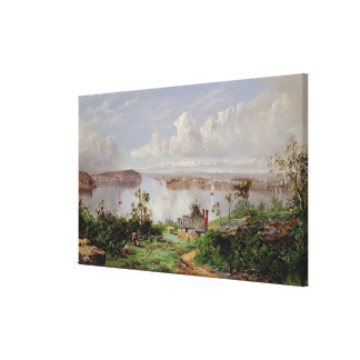 View From Onions Port, Sydney Canvas Print