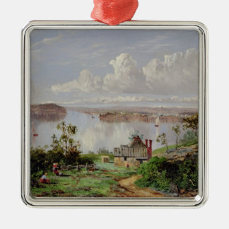 View From Onions Port, Sydney Christmas Ornament